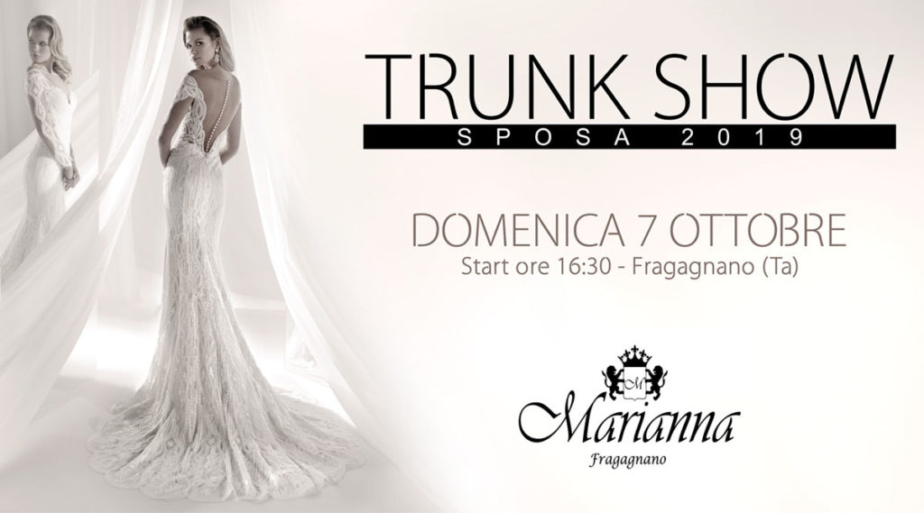 Trunk Show Sposa 2019
