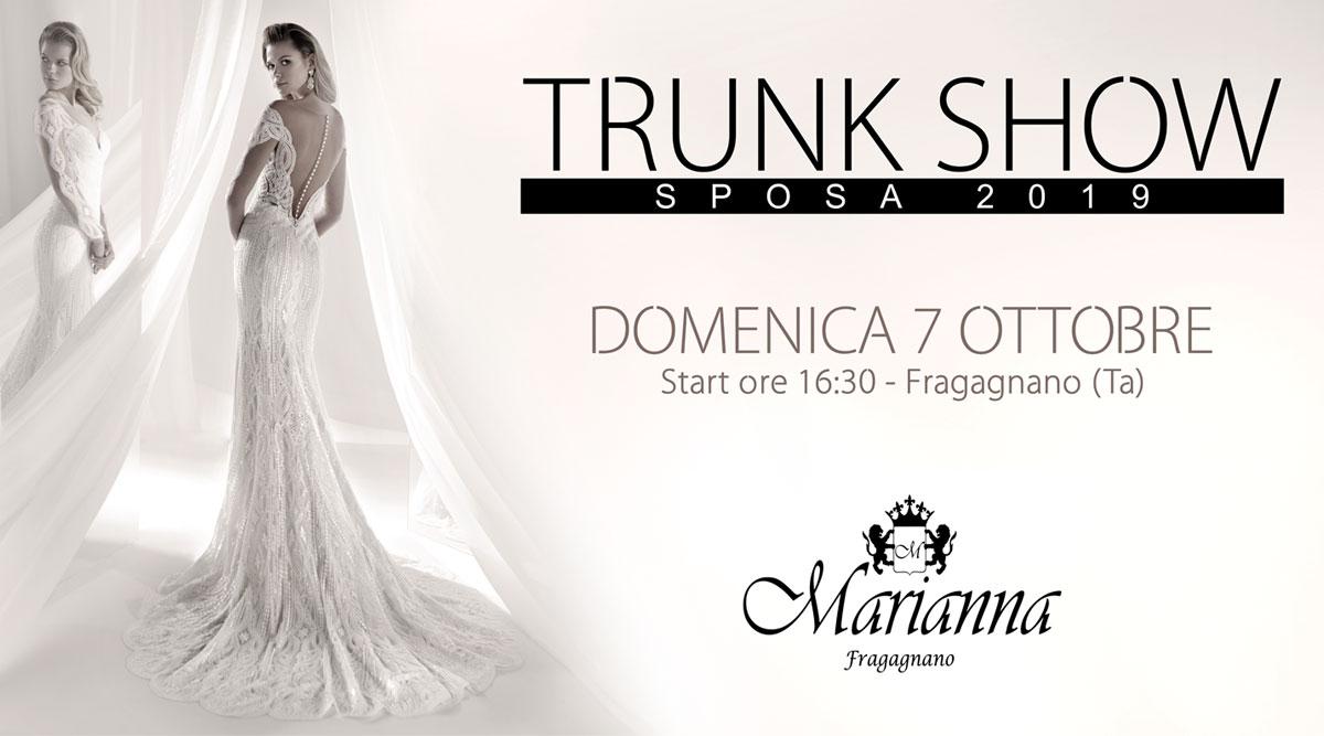Trunk Show 2019 - Marianna Cerimonia