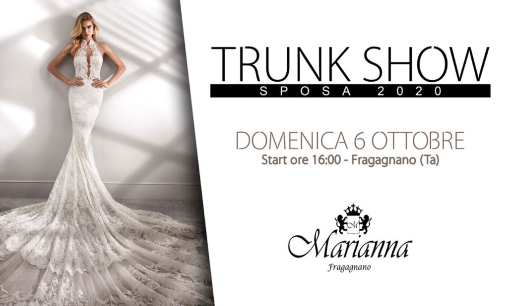 Trunk Show Sposa 2020